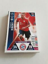 Trading Karte Franck Ribery FC Bayern München NEU