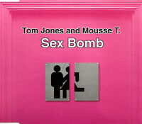 Tom Jones & Mousse T. ‎Maxi CD Sex Bomb - Promo - Europe (M/M)