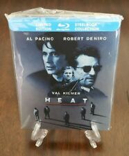 HEAT Limited Edition Steelbook (Canada) 1st Print w/ Interior Artwork. OOP RARE