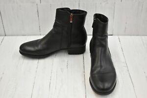 La Canadienne Sheena Waterproof Leather Ankle Boots, Women's Size 9.5M, Black