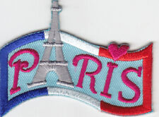 PARIS Iron On Patch France Eiffel Tower French