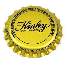 COCA-COLA Kinley BOTTLE CAP Junta Plástica Berlín Alemania