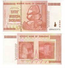 UNC ZIMBABWE $50 Billion Dollars (2008) P-87 from the $100 Trillion bill series