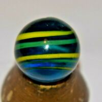 Unidentified  Marble Rare Handblown Size Approx .984 LARGE Shooter MINT!