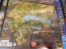 Heroes of Normandie Battleground Set Terrain Pack Iello Games War Board Game New