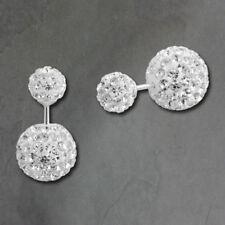 Orecchini di lusso con gemme perli bianchi