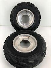 Polaris Predator 500 OEM Right Left Wheels Front Tires 1520841 10 Inch Straight