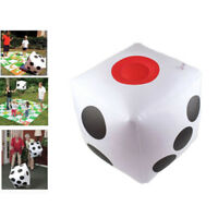 30Cm inflatable multi color blow-up cube pvc dice toy game toy  NT