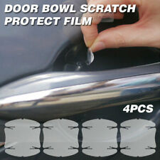 Door Handle Cup Anti Scratch Clear Paint Protector Film For SsangYong / Spartan