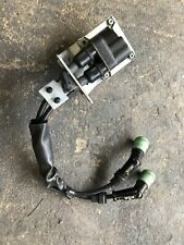 IGNITION COIL 2009 PIAGGIO MP3 500 DUAL SPARK PLUG NGK WIRES CAPS