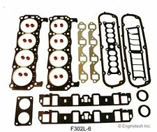 Enginetech F302L-6 Engine Full Rebuild Overhaul Gasket Set Ford 302 1986 - 1995
