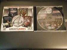 4 Great Games (Windows/Mac, 2011) MINT CONDITION