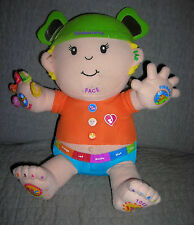 ThinkActivity plush boy activity doll with music sings numbers alphabet more