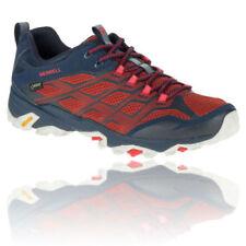 Chaussures et bottes de randonnée rouges Merrell
