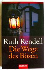 Die Wege des Bösen, Band 44980 von Ruth Rendell (2001, Taschenbuch)
