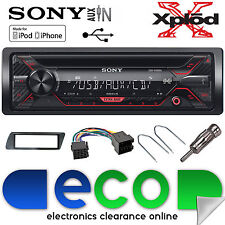 Peugeot 306 Sony CDX-G1200U CD MP3 USB Aux-In Ipod Iphone Car Radio Stereo Kit2