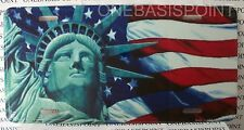 Statue of Liberty License Plate Lady Aluminum Vanity Car Sign Tag Metal Novelty