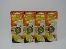 Armor All Freshfx Car Air Freshener Vent Clip, Set of 4, Lemon Berry