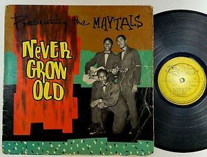 "The Maytals ""Never Grow Old"" Rare Reggae LP ND"