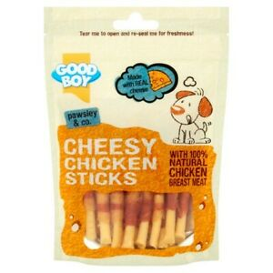 GoodBoy Pawsley Cheesy Chicken Sticks 80g