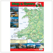 Educational Poster Map of Wales (0041)