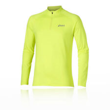 Abbiglimento sportivo da uomo antivento giallo taglia S