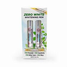 Zero White Whitening Pen (Twin Pack), Whitening Lightning