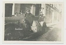 Foto Etappen Kraftwagen Kolonne 7 -Kraftfahrer im PKW 1.WK (X100)