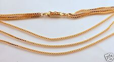 14ky Gold Italian-made 3-Strand Necklace!!