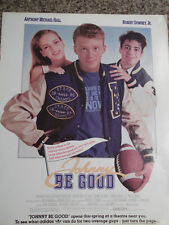 1988 Johnny Be Good Movie Ad Starring Robert Downey, Jr & Anthony Michael Hall