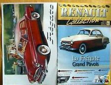 FASCICULE BOOKLET FREGATE GRAND PAVOIS RENAULT COLLECT°