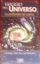 """Videocassetta/VHS """" VIAGGIO NELL'UNIVERSO LE PROFONDITA' DEL COSMO  """" cod.11616"""