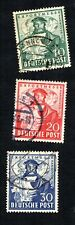 Germany 1949 #662-664 Export Fair Used