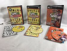 The Sims 2 PC CD ROM Video Game Lot Fashion Stuff Family Fun Open Business 21177