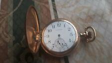 Runs Great Seaside 15j Antique Gold Waltham Pocket Watch
