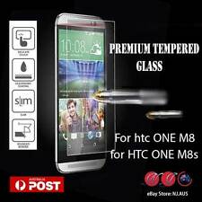 For HTC ONE M8s and M8 Tempered Glass Screen Protector Guard For HTC One M8 M8s