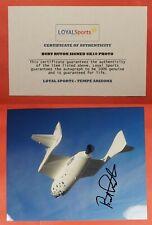 Burt Rutan Signed Photo + Coa