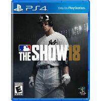 MLB The Show 18 (PlayStation 4, 2018) PS4 baseball * * Refurbished * *