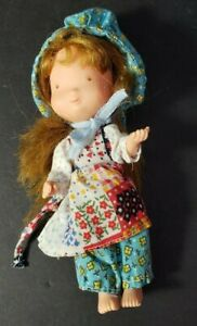 "Vintage  - Knickerbocker -HOLLY HOBBIE  - Jointed  -Vinyl Body - 6"" Doll"