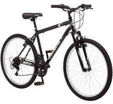 "26"" Men's Road Moutain Bike Navy Steel 18-Speed Roadmaster Granite Peak, New"