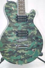Michael Kelly Patriot Blake Shelton L.P. Style Electric Guitar -Camo BLEM *B0075