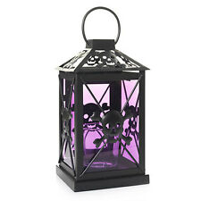 NIB Perfect Potions Lantern Skull Votive Candle Holder Halloween yankee candle
