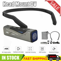 Lightweight EP 7 Head Mount 4K 60FPS HD Video Real Time Screen Sport Camera DV