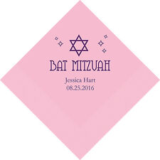 500 Bat Mitzvah Personalized Luncheon Napkins