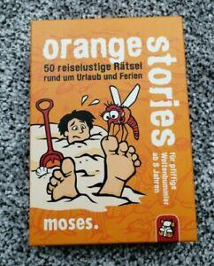 Spiele, Rätsel, Orange Stories, Ab 8 J, Gebraucht, Wie Neu