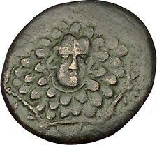 AMISOS in PONTUS MITHRADATES VI the GREAT Gorgon Aegis Nike Greek Coin i53990