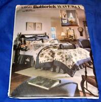 UNCUT SEWING PATTERN 5860, BUTTERICK WAVERLY BEDROOM ENSEMBLE SIZE ADJUSTABLE