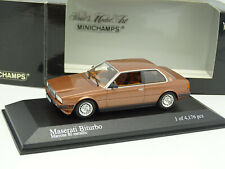 Minichamps 1/43 - Maserati Biturbo Marron