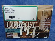 New Lightolier Cplcilf20 Compose Plc Filter 20Amp In-Line