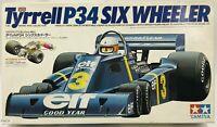 Tamiya Tyrrell P34 Six Wheeler 1/20 Scale Car Plastic Model Kit Display